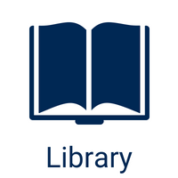 library icon and link